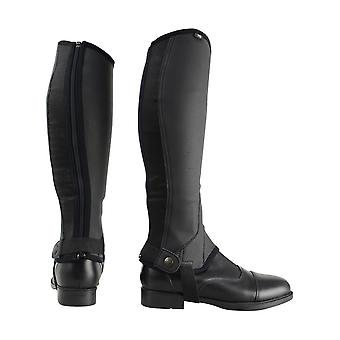 HyLAND Adults Synthetic Combi Leather Half Chaps