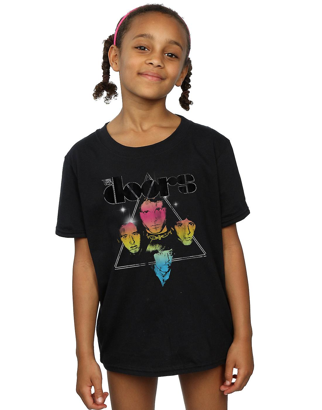 The Doors Girls Triangle Faces T-Shirt