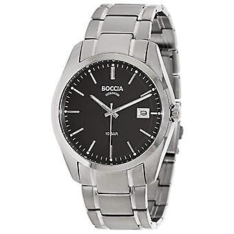 Boccia Titanium bracelet quartz men's digital watch 3608-04