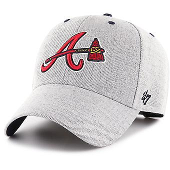 47 fire Adjustable Cap - CLOUD Atlanta Braves grey