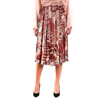Céline Ezbc064015 Women's Multicolor Silk Skirt