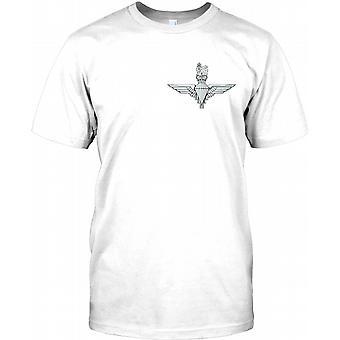 Fallschirmjäger-Regiment der britischen Armee - Brust Logo Kinder T Shirt