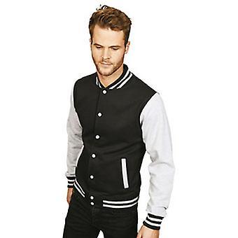 Casual Classic Mens Varsity Jacket