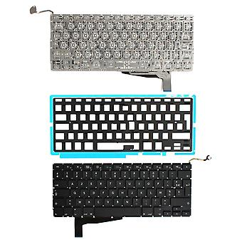 Apple MacBook Pro A1286 2008 Version Backlit Black French Layout Replacement Laptop Keyboard
