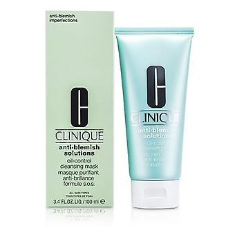 Clinique Anti-blemish Solutions Oil-control Cleansing Mask - 100ml/3.4oz