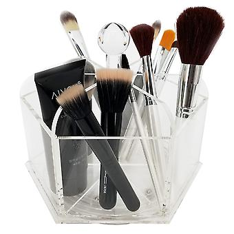 OnDisplay Dana pyörivä akryyli kosmetiikka/meikki järjestäjä tarjotin