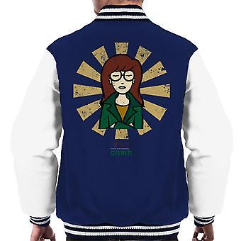 Daria Retro Japanese Men's Varsity Jacket