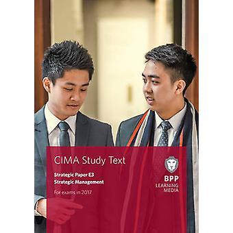 CIMA E3 Management stratégique-Etude texte par BPP Learning Media-9781