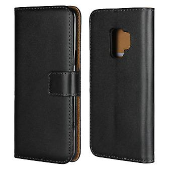 Wallet Case Galaxy S9 Plus, Genuine leather