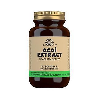 Solgar Acai Extract Softgels 60 (47)