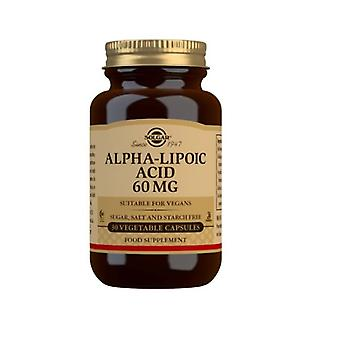 Solgar alpha lipoic acid 60mg Vegicaps 30 (55)