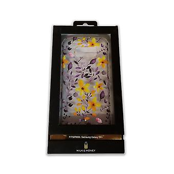 Milk and Honey Multi Floral Clear Case for Samsung Galaxy S8 Plus -Flowers/Clear
