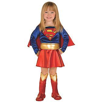 Supergirl Deluxe Superman Classic Superhero Book Week Toddler Girls Costume