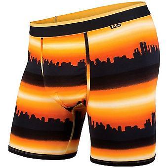 BN3TH klassieke Boxer Short-City horizon Orange