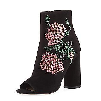 Donald J Pliner Womens barri Suede Open Toe Ankle Fashion Boots