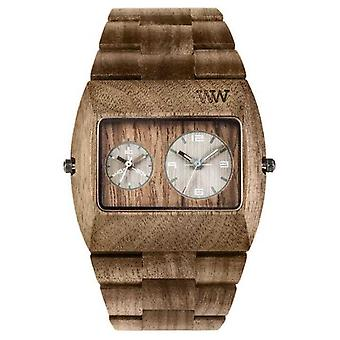 WeWood Mens Jupiter RS Nut Wooden Brown Strap 70331700 Watch