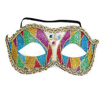 Glitter Venetsia venetsialainen naamio Domino eye peite lisävaruste