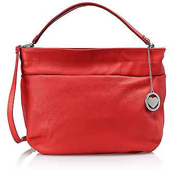 Chicca Bags Cbc3315tar Women's Shoulder Bag Red 12x29x37 cm (W x H x L)