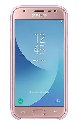 Samsung EF-PJ330CPE Dual Layer Cover Case Galaxy J3 2017 - pink