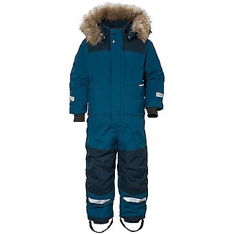 Didriksons Bjornen 3 Kids Snowsuit | Hurricane Blue