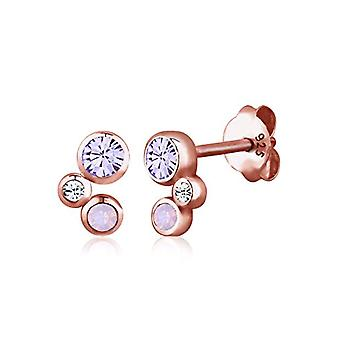 Sterling 925 silver elli - rose gold-plated - 0312830315 Earrings with Swarovski crystals