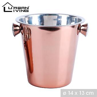 Heladería cubo de cobre champagne party Bowl