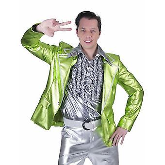Disco Fever 70 iger Jahre Jackett 80 iger Jahre Schlager Party Tänzer Sakko Herren Kostüm