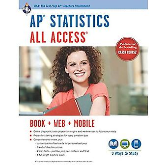 AP Statistics All Access [With Web Access] (Advanced Placement (AP) All Access)