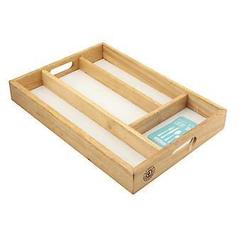 Apollo Wooden Cutlery Tray