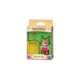 Sylvanian Families Striped Cat Baby 5186