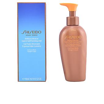 Shiseido Brilliant Bronze Quick Self-tanning Gel 150 Ml Unisex