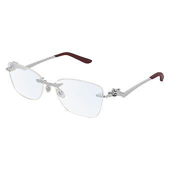 Cartier Panthere de Cartier CT0120O 003 Silver Glasses