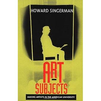 Konstämnen-göra konstnärer i American University av Howard sin