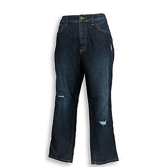 Denim & Co. Women's Petite Jeans 12 Classic Denim Blue A304476
