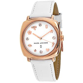 Marc Jacobs Women's Mandy White Dial Watch - MJ8678