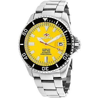 Seapro Men's Scuba 200 Yellow Dial Watch - SP4314