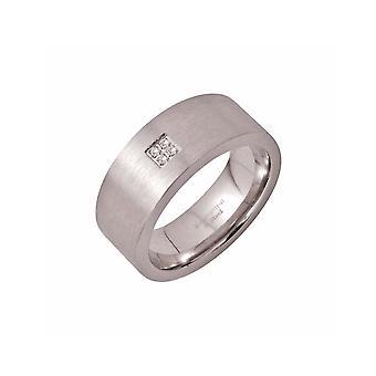 ZOPPINI 4 Diamante Tamaño anillo 14