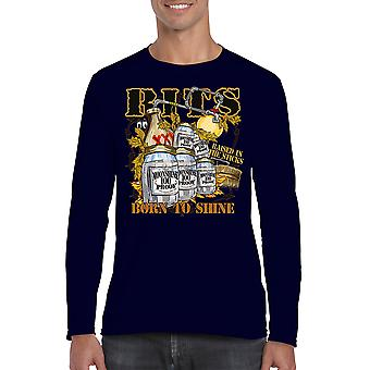 Unisex Rits Born To Shine Long Sleeve Shirt