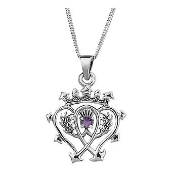Scottish Luckenbooth Love And Loyalty Necklace Pendant - Inclut 16'quot; Chain