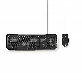 Wired Mouse and keyboard-Nordic