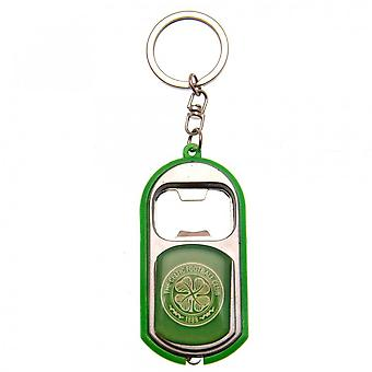 Celtic FC Torch and Bottle Opener Keyring