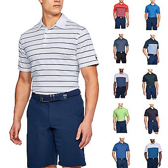 Under Armour Mens Crestable Playoff Performance Golf Polo Shirt