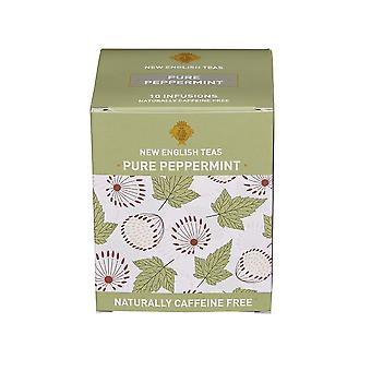 Pure peppermint tea 10 individually wrapped teabags