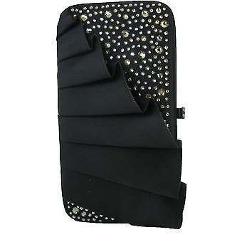 Bourne Women's Black Stella Clutch Bag