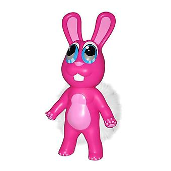 Chewbies Pink Bunny Vinyl Dog Toy