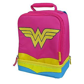 Wonder Woman Double Lunchbox avec Cape