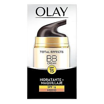 Återfuktande kräm med färg Summa effekter BB Cream Olay SPF 15 (50 ml)