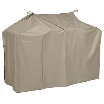 Storigami Easy Fold Bbq Grill Cover, Goat Tan, Grand