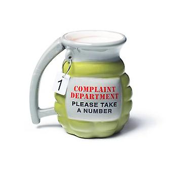 Bigmouth grenade mug - take a number