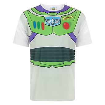 Disney Toy Story Buzz Lightyear Space Ranger Kostuum Men's Volwassenen T-shirt Top
